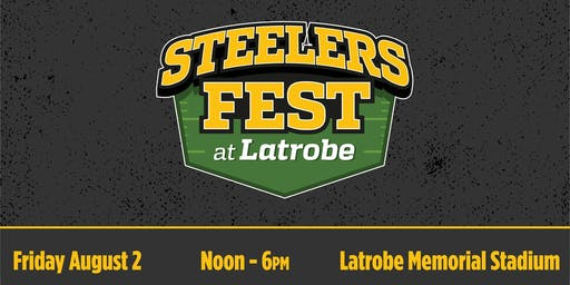 Steelers Fest at Latrobe