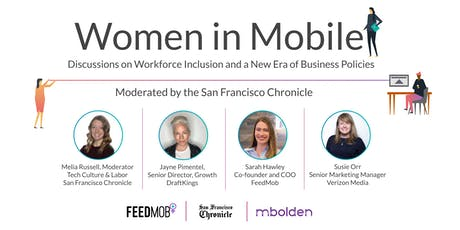 Women in Mobile: Discussions on  Workforce Inclusion + Business Policies tickets