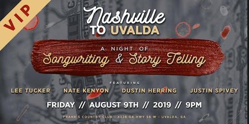 Nashville to Uvalda
