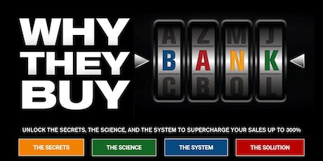 Why They Buy - Oct 18 Gaithersburg tickets