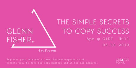 Creative Point: The Simple Secrets To Copywriting Success tickets