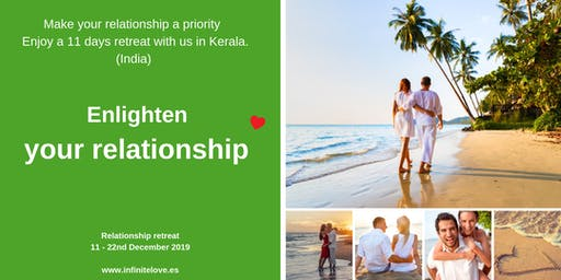 Enlighten your Relationship Retreat in Kerala, South India ( ONLY workshop)