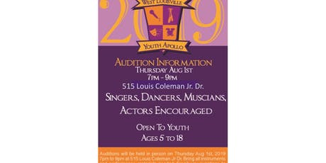 The West Louisville Youth Apollo tickets