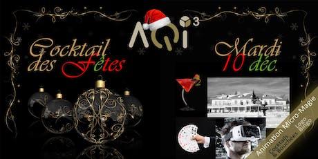 Cocktail des fêtes - Québec billets