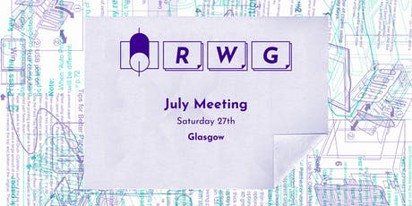 Riso Working Group — July Meeting tickets
