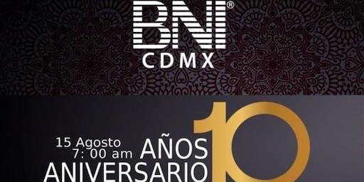 BNI Aniversario 10 años Ciudad de México