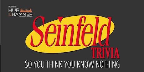 Seinfeld Trivia Night - Tilsonburg tickets
