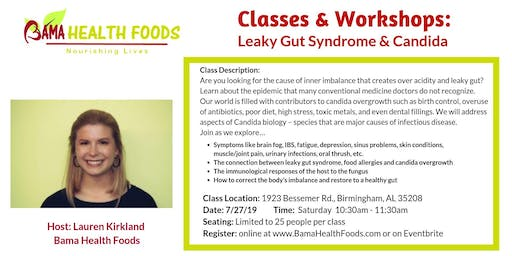Learn about Leaky Gut and Candida
