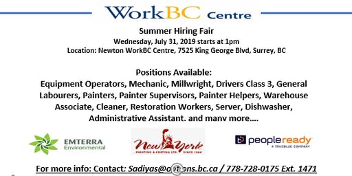 Summer Hiring Fair