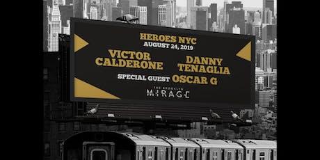 Victor Calderone & Danny Tenaglia with Oscar G - Brooklyn Mirage tickets
