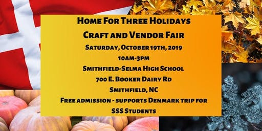 Home For Three Holidays Craft and Vendor Fair