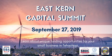 East Kern Capital Summit tickets
