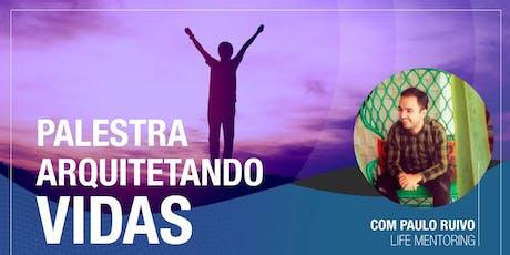 """Considerada """"a melhor palestra da vida"""" - por Paulo Ruivo ingressos"""