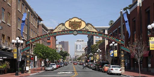 Downtown San Diego Walkabout with Party Fun in the Gaslamp