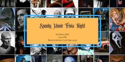 Spooky Movie Trivia Night