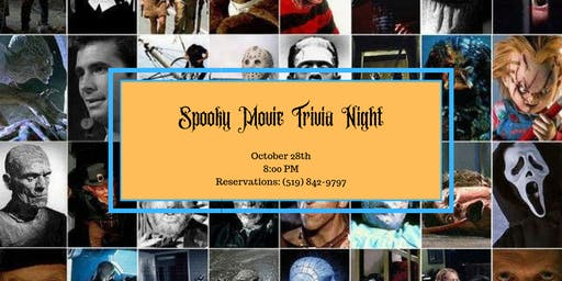 Spooky Movie Trivia Night