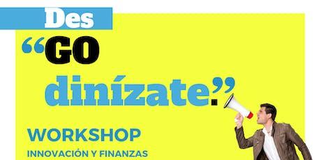 Workshop Desgodinízate Puebla boletos