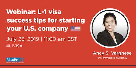 Immigration Events Can I Start A Business In The USA On L-1 Visa tickets