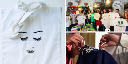 Make your own t-shirt, tote bag or baby grow! (with BYOB)