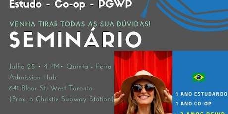 ESTUDO - CO-OP - PGWP SEMINÁRIO tickets