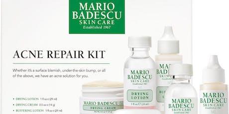 Mario Badescu Skincare and Makeup Class tickets
