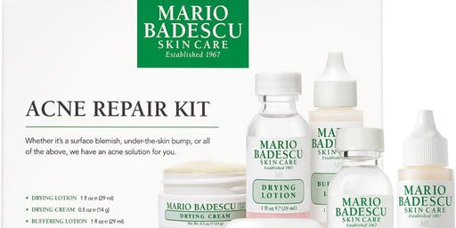 Mario Badescu Skincare and Makeup Class