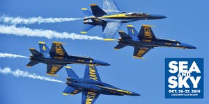 Sea & Sky Air Show VIP and Shuttle Passes