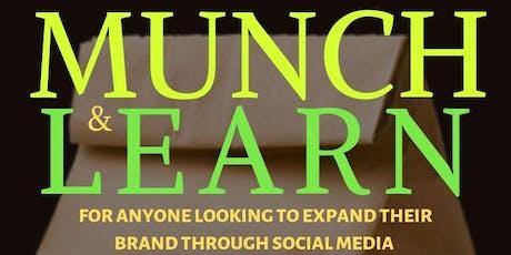 Creating Brand Awareness Through Social Media Munch & Learn 4th QTR tickets