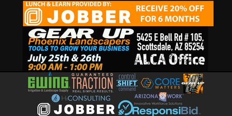 Gear Up Phoenix Landscapers: Tools to Grow Your Business tickets