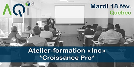 """Atelier-Conférence Pro """"Optimiser sa recherche de mandats"""" - Québec billets"""