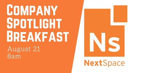 Company Spotlight Breakfast at Nextspace