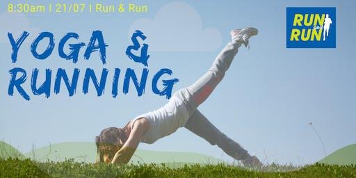 Práctica de yoga para corredores.