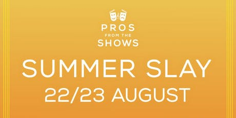 #SummerSlay | 23rd Aug @ BASE | Inter/Adv tickets