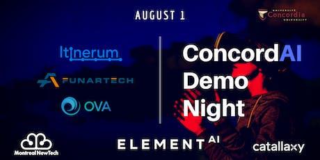 ConcordAI Demo Night tickets