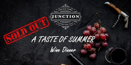 """A Taste of Summer"" wine dinner featuring Byron Blatty"
