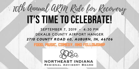 10th Annual Ride for Recovery After-Party tickets