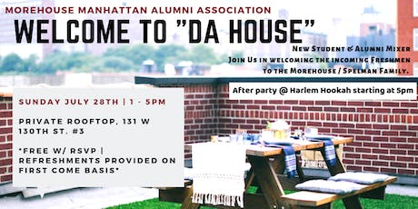 New Student Welcome | Alumni Happy Hour @ Harlem Hookah tickets