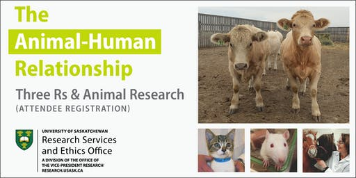 Three Rs and Animal Research (Attendee Registration)