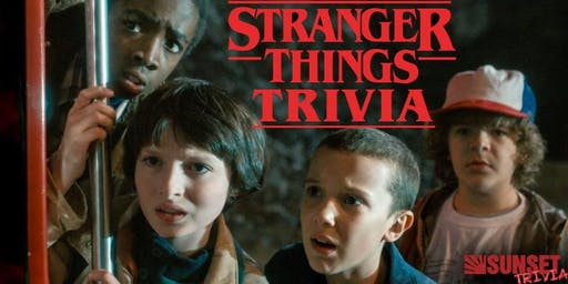 Stranger Things Trivia! (Mission Beach)