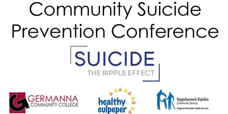 Community Suicide Prevention Conference tickets