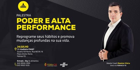 [PALESTRA] Poder e Alta Performance ingressos