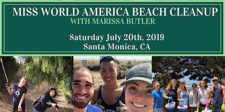 Miss World America Beach Cleanup tickets
