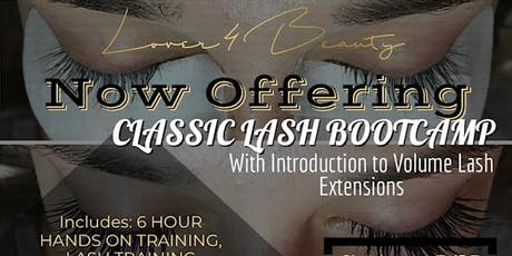 Classic Lash BOOTCAMP (Houston, TX) tickets