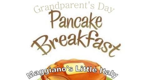 Grandparent's Day - Pancake Breakfast
