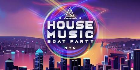 NYC #1 Dance Music Boat Party Yacht Cruise around Manhattan tickets