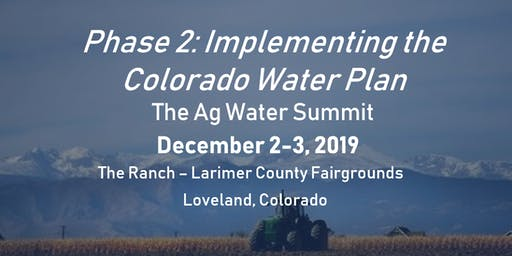 Ag Water Summit