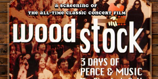 Screening of the film WOODSTOCK