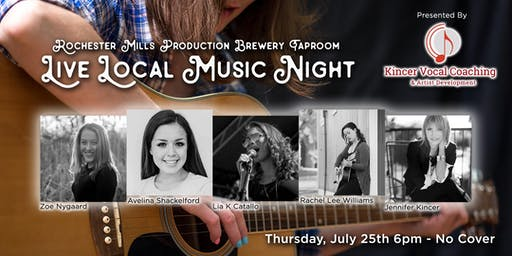 Live Local Music Night @ the Taproom