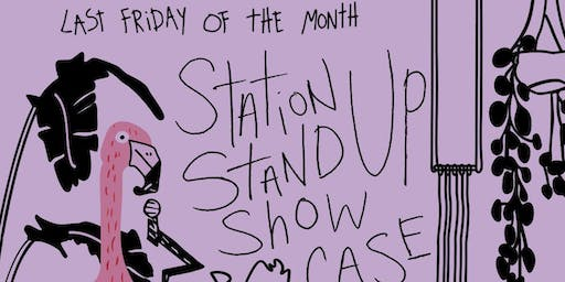 The Station Stand Up Showcase hosted by Sean Mullins