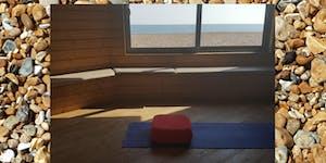 Yin yoga journey on the beach-  Brighton - Sat / Sun